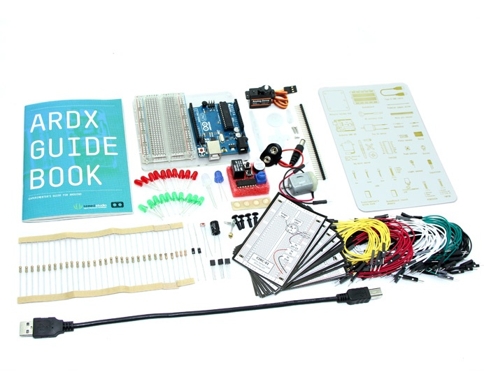 ARDX - The starter kit for Arduino - Click Image to Close