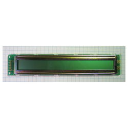 Retired - Basic 40x2 Character LCD, no backlight, green/black