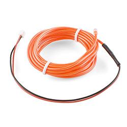 EL Wire - Orange 3m [COM-10193] - $9 95 : SpikenzieLabs